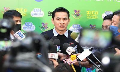 HLV Kiatisuk đã nói gì với báo chí Thái Lan khi quyết định tái hợp với Bầu Đức?