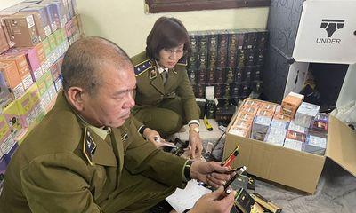 Hà Nội: Thu giữ hơn 10.000 qua bóng cười cùng hàng nghìn điếu thuốc lá điện tử