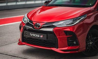 Thế giới Xe - Toyota Vios 2021 bản thể thao bất ngờ lộ diện, giá từ 558,8 triệu đồng