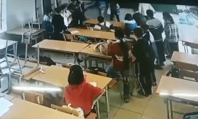 Vụ phụ huynh xông vào trường đánh nam sinh lớp 6 ở Điện Biên: Khởi tố bị can