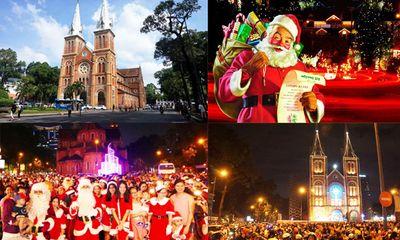 Khám phá những địa điểm chơi Noel lý tưởng ở Hà Nội, TP.HCM