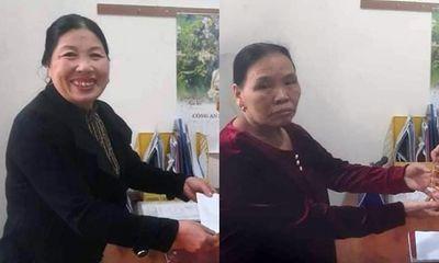 Cụ bà 69 tuổi nhận lại dây chuyền vàng 3,5 chỉ đánh rơi từ người phụ nữ tốt bụng