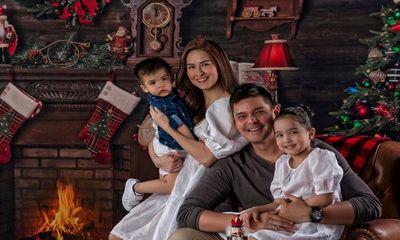 Mỹ nhân đẹp nhất Philippines khoe ảnh Giáng sinh, dân mạng xuýt xoa nhan sắc của đại gia đình