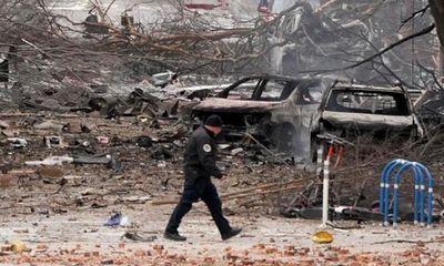 Hiện trường vụ nổ xe rung chuyển thành phố Mỹ ngay sáng Giáng sinh