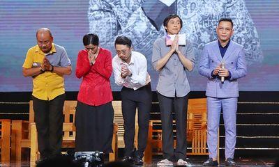 Hoài Linh nghẹn ngào gửi lời cảm ơn khán giả về sự thiếu vắng của cố nghệ sĩ Chí Tài
