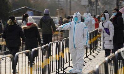 Trung Quốc phong tỏa 10 khu vực ở Thủ đô Bắc Kinh vì bùng phát dịch COVID-19