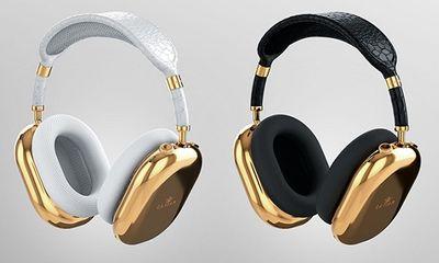 Cận cảnh phiên bản tai nghe AirPods Max mạ vàng siêu sang, giá hơn 2,5 tỷ đồng