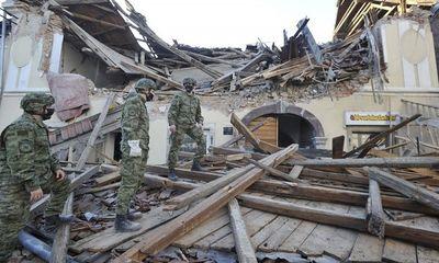 Động đất mạnh 6,4 độ làm rung chuyển Croatia, ít nhất 7 người tử vong