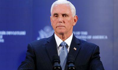 Phó Tổng thống Mike Pence từ chối giúp đỡ ông Trump lật ngược kết quả bầu cử