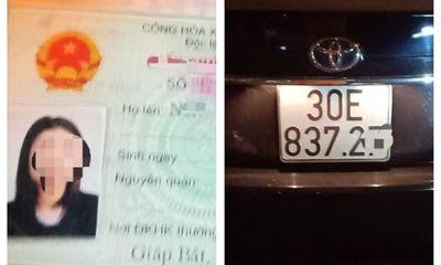 Nữ tài xế xe Camry say ngất trong đêm giao thừa bị phạt 40 triệu đồng?