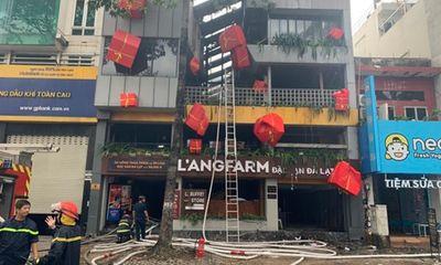 Tin tức thời sự mới nóng nhất hôm nay 2/1: Quán đặc sản Đà Lạt bất ngờ cháy lớn, nhiều tầng bị thiêu rụi