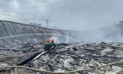 Hỏa hoạn trong đêm tại nhà xưởng công ty may, thiệt hại ước tính tới 10 tỷ đồng