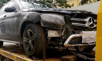 Vụ xe GLC 200 bị cháy được mang đi diễu hành khắp phố: Mercedes-Benz Việt Nam nói gì?