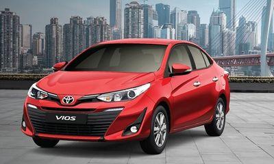 Thế giới Xe - Bảng giá xe ô tô Toyota mới nhất tháng 1/2021: