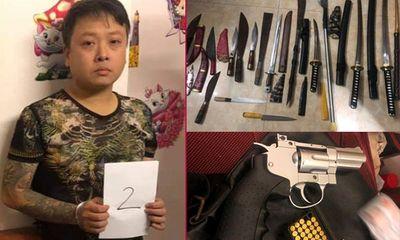Bất ngờ lời khai của thanh niên xăm trổ tàng trữ ma túy và nhiều vũ khí