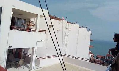 Người đàn ông thẳng tay ném vợ xuống từ tầng 8, diễn biến sau đó y như phim hành động