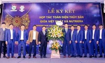 Công ty Cổ phần Công nghệ Dinh dưỡng Việt Nhật: Bước đột phá lớn trong lĩnh vực thủy sản