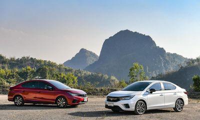 Bảng giá xe ô tô Honda tháng 1/2021: Honda City phiên bản mới chính thức lên kệ
