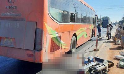 Tin tai nạn giao thông ngày 8/1: Người đàn ông bị xe khách cán chết thảm