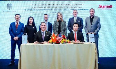 Cái bắt tay lịch sử giữa Marriott International & Masterise Homes:Xây dựng khu Branded Residence (Bất động sản hàng hiệu) lớn nhất thế giới tại Việt Nam