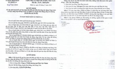 """Hưng Yên: Công ty Phúc Lộc Thịnh gian lận hồ sơ vẫn """"bao thầu"""" tại huyện Kim Động?"""