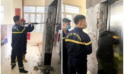 Tai nạn thang máy ở Quảng Ninh, một nam nhân viên tử vong