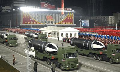 Triều Tiên trình diễn loại