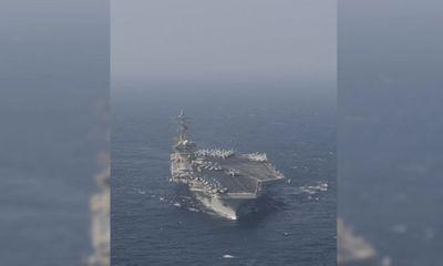 Tên lửa Iran phát nổ, rơi trên Ấn Đô Dương ngay sát tàu thương mại khiến căng thẳng gia tăng