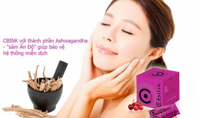 Y tế - CBINK với thành phần Ashwagandha -