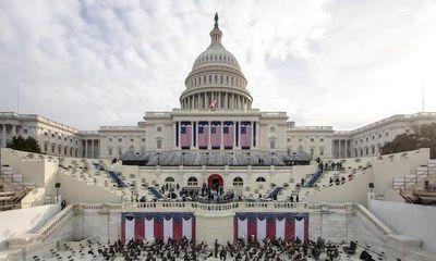 Hình ảnh trong buổi diễn tập lễ nhậm chức của Tổng thống đắc cử Joe Biden