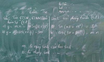 Những độc chiêu chống quay cóp của giáo viên khiến học trò phát hoảng, chỉ còn cách