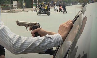 Vụ nổ súng gần trạm xăng, đám thanh niên chạy tán loạn: 1 người trúng đạn cao su ở cằm