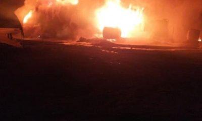 Tin tức quân sự mới nhất ngày 25/1: UAV Nga phá hủy kho dầu lớn nhất của phiến binh ở Tây Bắc Syria