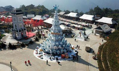 Lễ hội mùa đông Fansipan hút khách những ngày cuối năm