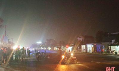 Tin tai nạn giao thông ngày 30/1: Bé trai 3 tuổi ở Hà Tĩnh qua đường bị xe đầu kéo tông tử vong