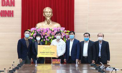 Quảng Ninh tiếp nhận 10.000 test xét nghiệm Covid-19 từ tập đoàn Sun Group