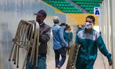 Đà Nẵng tháo dỡ bệnh viện dã chiến Tiên Sơn để chi viện cho Hải Dương