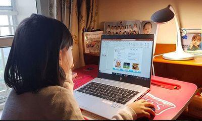 Các trường trên địa bàn Hà Nội tổ chức dạy học trực tuyến