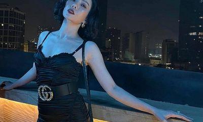 Lệ Quyên khoe body gợi cảm hết nấc trong bộ váy đen bó sát, Lâm Bảo Châu có phản ứng bất ngờ