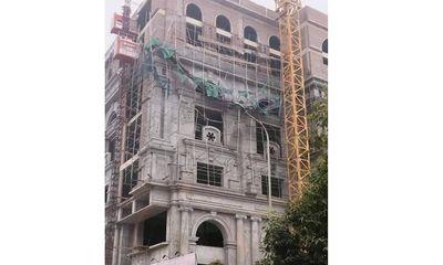 Phú Thọ: Sập giàn giáo công trình trung tâm thương mại khiến 5 người bị thương
