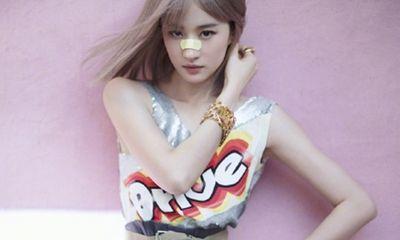 Lưu Diệc Phi tung ảnh tạp chí
