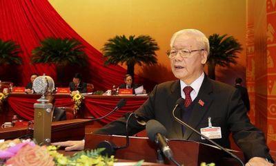 """Tổng Bí thư Nguyễn Phú Trọng: """"Ban Chấp hành phấn đấu, nỗ lực vượt qua mọi khó khăn để hoàn thành nhiệm vụ"""