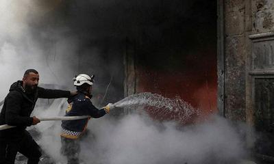 Chiến sự Syria: Đánh bom kinh hoàng liên tiếp, ít nhất 11 người chết