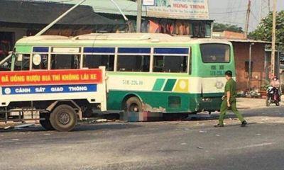 Tây Ninh: Xe khách hỏng phanh tông chết người