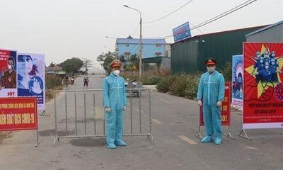 Hải Dương phong tỏa huyện Cẩm Giàng vì COVID-19