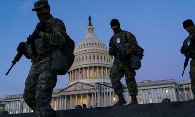 Mỹ tốn gần 500 triệu USD để duy trì Vệ binh Quốc gia tại Điện Capitol