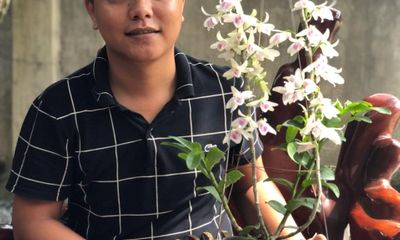 Ông chủ vườn lan Quý Trần chia sẻ cách chăm lan hiệu quả