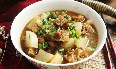 Thịt bò đem hầm với củ này, cả nhà được món ngon ăn cùng cơm vô cùng hấp dẫn
