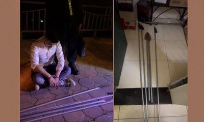 Hà Nội: Ngăn nhóm thanh niên mang hung khí đi đánh nhau giữa đêm