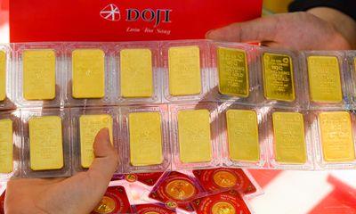 Giá vàng trong nước vượt mốc 57 triệu đồng/lượng